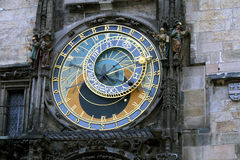Астрологические часы, старая городская площадь, Прага Стоковые Изображения RF