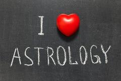 Астрология влюбленности Стоковое Изображение