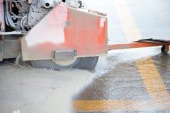 Асфальт вырезывания Стоковая Фотография RF
