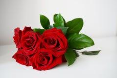 дата торжества букета цветет красные розы некоторые Стоковые Изображения RF
