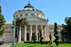 Атеней Бухарест, Румыния Стоковое Изображение