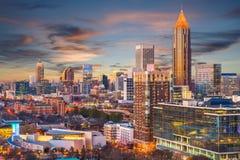 Атланта, Georgia, США стоковое изображение rf