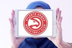 Атланта Hawks логотип баскетбольной команды Стоковые Изображения