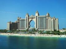 Атлантида ладонь, Дубай, Объениненные Арабские Эмираты стоковые фото