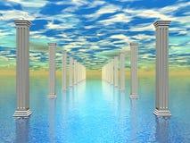 Атлантида Стоковое Изображение RF
