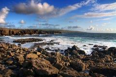 атлантическая береговая линия Стоковые Изображения RF