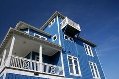 атлантическая дом пляжа Стоковое Изображение RF