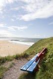 атлантические взгляды лета пляжа Стоковые Фотографии RF