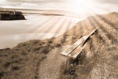 атлантические взгляды пляжа Стоковые Изображения RF