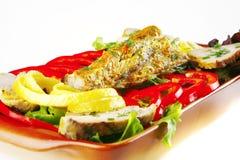 атлантические овощи туны жаркого стоковое изображение rf