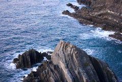 атлантические скалы если океан Стоковые Фотографии RF