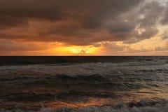атлантический восход солнца Стоковое фото RF