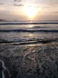 атлантический восход солнца стоковая фотография