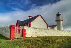 атлантический маяк dingle Стоковые Изображения