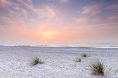 атлантический океан florida над южным восходом солнца Стоковые Фото