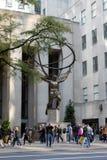 атлас New York стоковое изображение rf