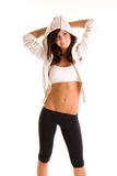 атлетическая женщина Стоковые Изображения RF
