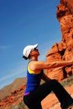 атлетическая женщина Стоковое Изображение