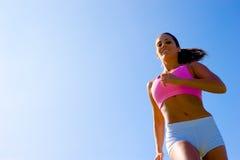 атлетическая работая женщина стоковая фотография