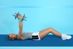атлетическая тренировка Стоковая Фотография RF