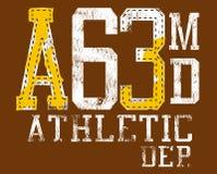 атлетические маркировки одежды Стоковое Изображение RF