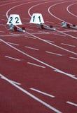 атлетический стадион Стоковая Фотография RF