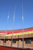 атлетический стадион Стоковое Изображение