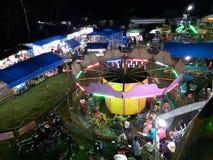 Атмосфера выходных базара стоковая фотография