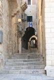 Атмосфера около западной стены в Иерусалиме Стоковое фото RF