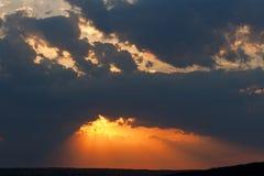 Атмосфера, осень, предпосылка, красивая, красота, синь, ясность, стоковая фотография