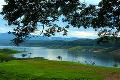 Атмосфера реки утра Стоковые Изображения