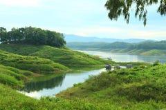 Атмосфера реки утра Стоковые Изображения RF