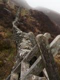 Атмосфера сельской местности Welsh стоковые изображения rf