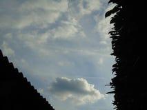 Атмосферическое небо над Хартфордширом Стоковое Изображение RF
