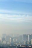 атмосферное загрязнение Стоковые Изображения