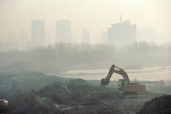 Атмосферное загрязнение Стоковые Фотографии RF