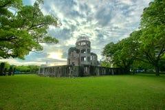 Атомная бомба в Хиросиме Стоковые Изображения RF