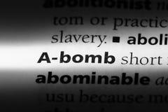 Атомная бомба Стоковые Изображения