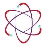 Атомная молекула Стоковое Фото
