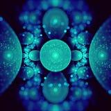 Атомная фракталь стоковые изображения rf