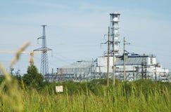 атомная электростанция chernobyl Стоковое Изображение RF
