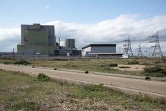 Атомные электростанции a & b Великобритания Dungeness Стоковое Изображение RF