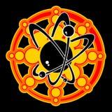 атомный вектор изображения Стоковое Изображение RF