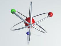 атом одиночный Стоковые Фотографии RF
