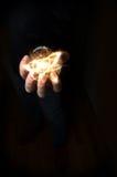 Атом хрустального шара Стоковые Изображения RF