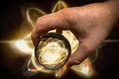 Атом хрустального шара Стоковая Фотография RF