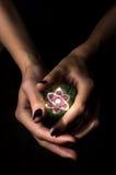 Атом хрустального шара Стоковые Фото