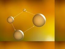 атом Стоковое Изображение RF
