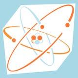 атом Стоковое Изображение