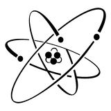 атом Стоковое Фото